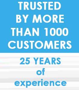 25 years of experiance in packing solutions