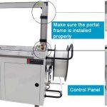 Automatski stroj za pakiranje AUTOMA-kontrolna ploča