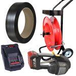Baterijski alat za vezivanje MB620 set PP traka + razmotač + baterija + punjač