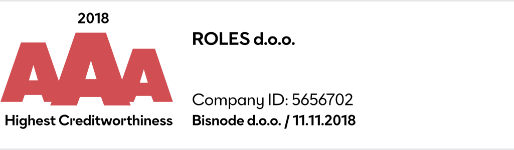 Battery strapping Roles d.o.o. AAA company in Slovenia